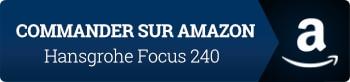 Robinet chromé : Hansgrohe mitigeur évier cuisine avec bec orientable Focus 240