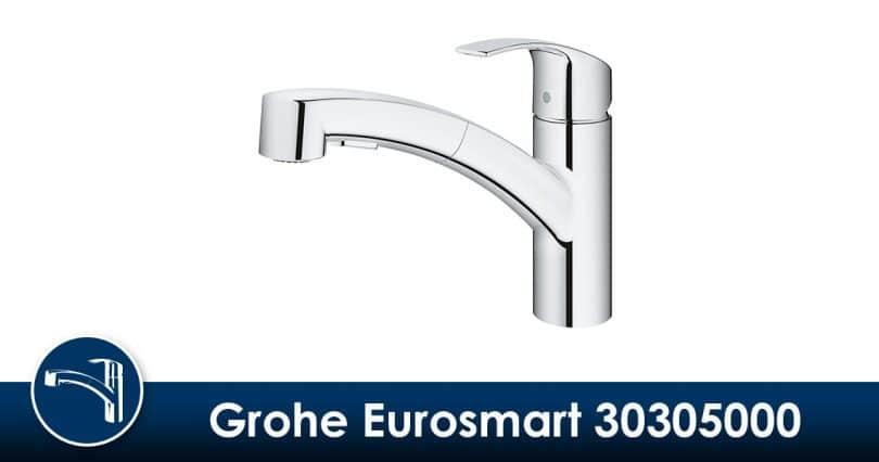 Grohe Eurosmart 30305000 : Test & Avis | Mitigeur évier avec douchette
