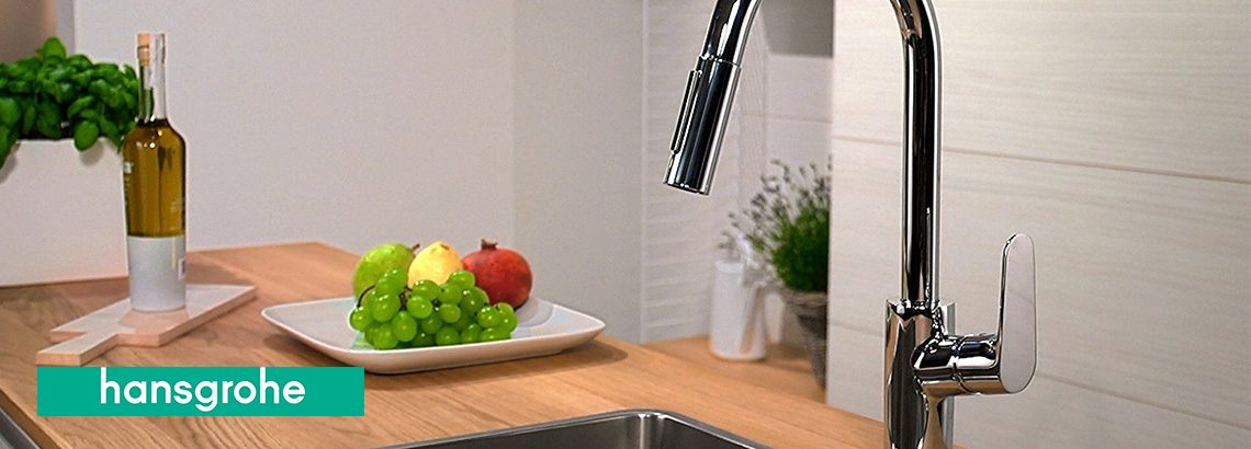 Robinet cuisine Hansgrohe