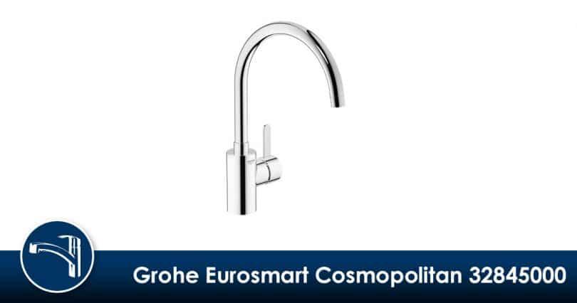 Intemporel et économique, le GROHE Mitigeur Évier Eurosmart Cosmopolitan 32845000